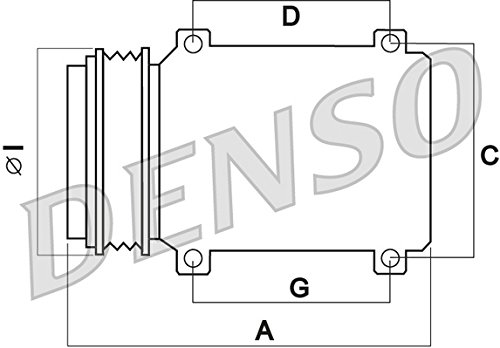 Denso-DCP23530-Klimatisierungs-Kompressor