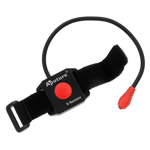 Aputure V-Remote Ir Remote, For Canon Eos Dslrs Video On/Off, Fits Video Shoulder Support Stabilizer Rig, For Canon Eos 1D Mark Iv, 5D Mark Iii, 5D Mark Ii, 7D, 60D, 600D/T3I/Kiss X5, 550D/T2I/Kiss X4, 500D/T1I/Kiss X3, 1100D/T3/Kiss X50