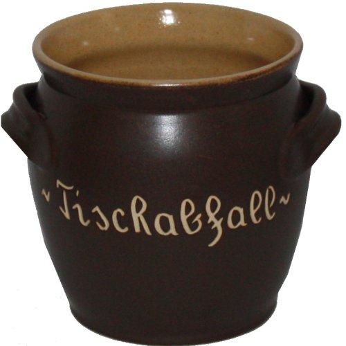 -tischabfall-krug-becher-keramikkrug-becher-aus-keramik-braun-sachsische-keramik-handgetopfert-masse