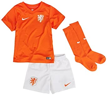 2014-15 Holland Home World Cup Mini Kit by Nike