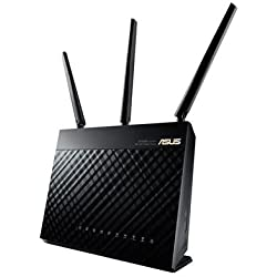 ASUS RT-AC68U - Router inalámbrico AC1900 Dual-band Gigabit (punto de acceso, USB, soporta 3G/4G)