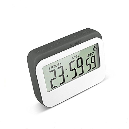 VPAL Digital Kitchen Timer 12 / 24 Hours Alarm Clock with Magnetic Back and Retractable Stand, Large LCD Display (Digital Timer Clock compare prices)