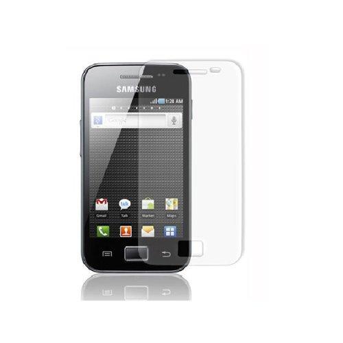 Screen Guard für Samsung GALAXY ACE PLUS --Schutzfolie Screenguard Schutzfilm mit 2 X Vorderseite ---- NEU ---- SAMSUNG S7500 SCHUTZFOLIE ----