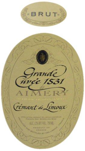 Nv Aimery Brut Reserva Blend - Sparkling Crémant De Limoux 750 Ml
