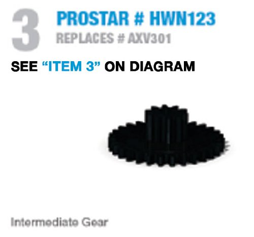 Axv301 Hayward Replacement: Intermediate Gear - Prostar Genuine Replacement Part Hwn 123