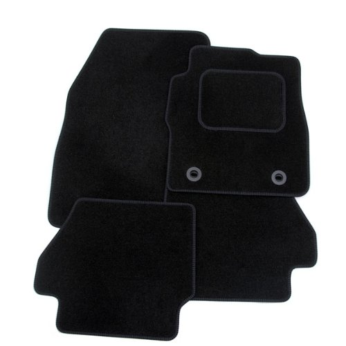 Jaguar X-Type [Diesel] (2003-present) Tailored Car Mats BLACK