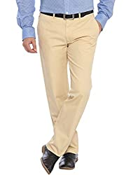 ColorPlus Medium Yellow Men Trouser (CMTF10812-Y491F042)