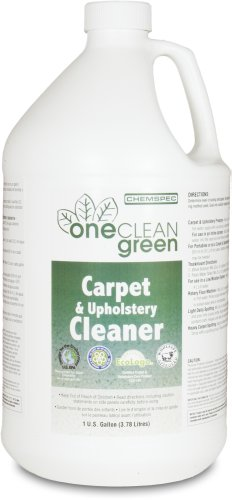 Chemspec OCG4G OneClean Green Carpet and Upholstery Cleaner, 1 Gallon Bottles (Case of 4)