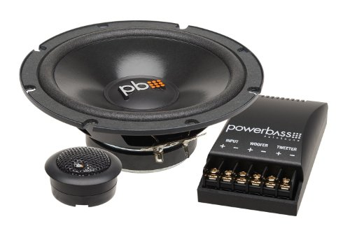 Powerbass S-60C 6.5-Inch Component Speakers, Set of 2