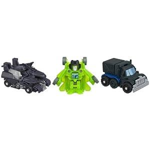 Transformers Bot Shots Battle Game Series 1 3-Pack (Megatron, Nemesis Prime, Acid Storm)