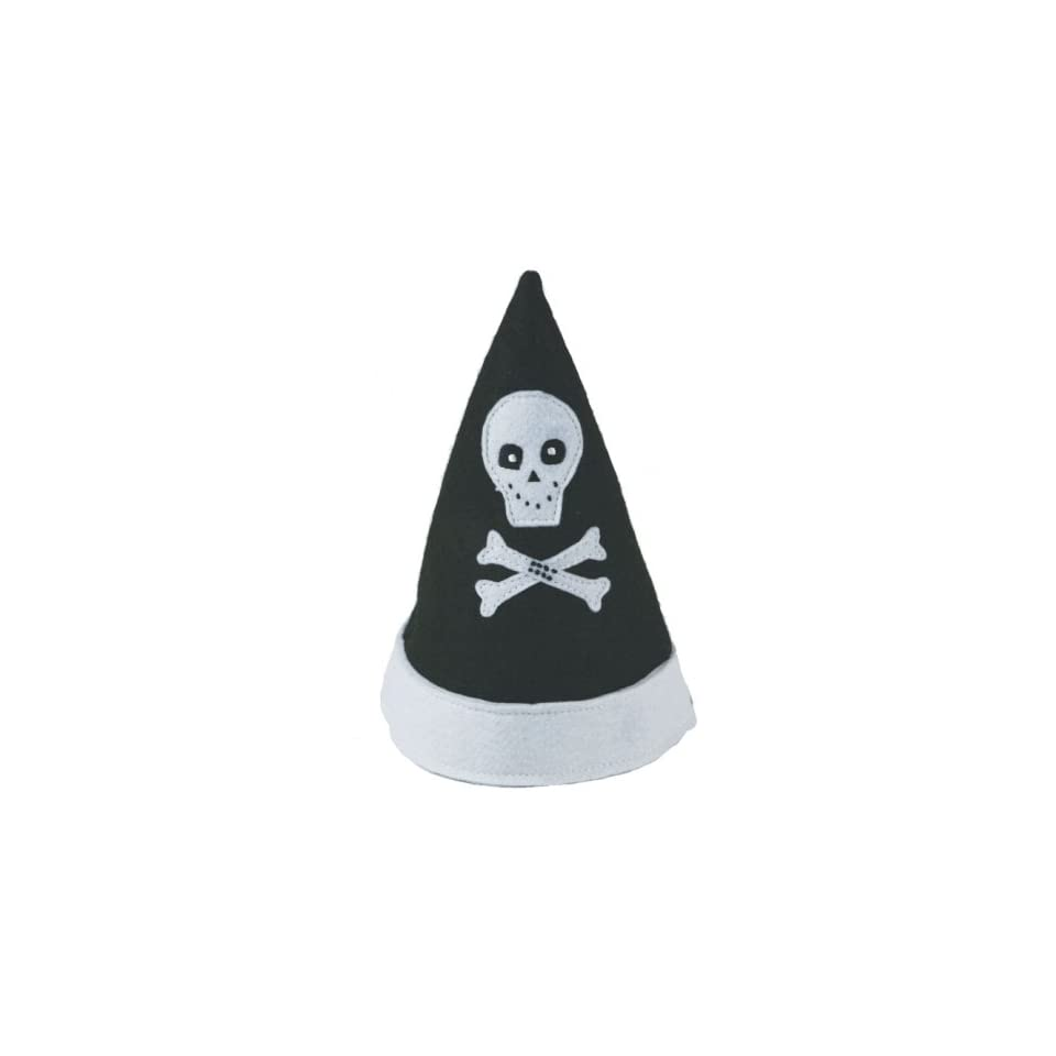 Childrens Reusable Pirate Skull & Bones Party Hat Toys & Games