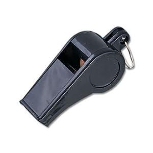 Buy Black Plastic Whistles - 1 Dozen by MacGregor