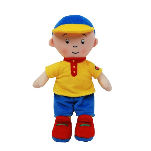 415%2BHbDUPiL Caillou 10 Inch Plush Doll