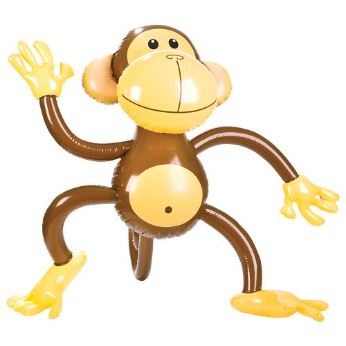 Inflatable Monkey (1 pc)