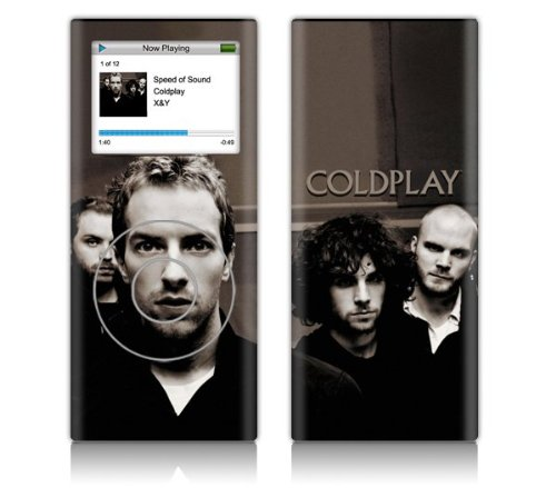 Zing Revolution Ms-Cp10131 Ipod Nano- 2Nd Gen- Coldplay- Photo Skin front-191552