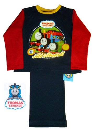 ThePyjamaFactory Thomas The Tank Engine and friends Official Long Pyjamas