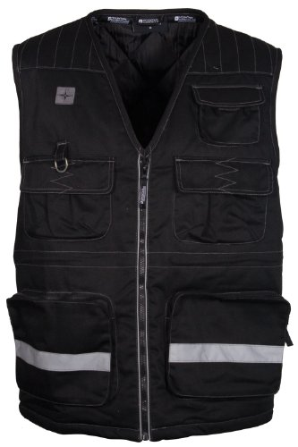 Steer Men's Padded Gilet - Colour Black Size Small