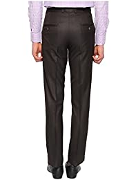 White House Jeans Men's Regular Fit Flat Front Trousers