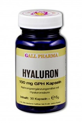 Gall Pharma Hyaluron 100 mg GPH Kapseln, 1er Pack (1 x 60 Stuck)