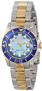 "Invicta Women's 2961 Pro Diver Collection ""Lady Abyss"" Two-Tone Dive Watch by Invicta"