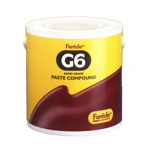 Farecla G6-3000/4 G6 3Kg Rapid Grade Paste Compound