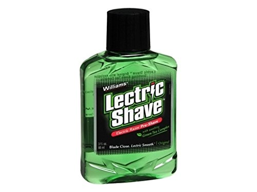 Williams Lectric Shave 3 Oz (5 Pack)