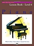 Alfred's Basic Piano Lesson Book 6 --- Piano - Palmer, Manus & Lethco --- Alfred Publishing