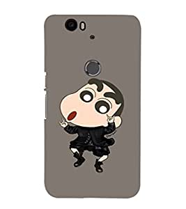 EPICCASE Dancing Ching Shang Mobile Back Case Cover For Huawei Nexus 6P (Designer Case)