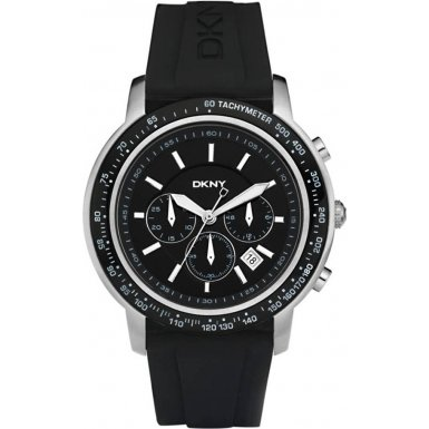 DKNY NY1478 Mens Sport Chronograph Black Watch