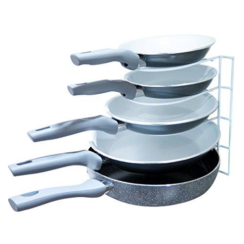 Evelots Metal Pot Storage Organizing Rack,