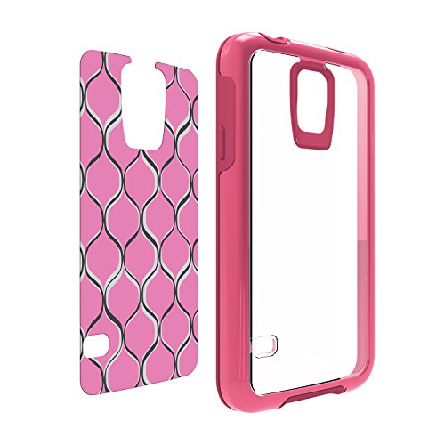 OtterBox My Symmetry Series Samsung Galaxy S5 Case - Sorbet Crystal w/ Pink Mesh Graphic Insert (Custom Otterbox S5 compare prices)