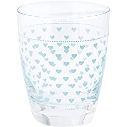 GreenGate Glas - Glass - Haven Mint H 9,5 cm