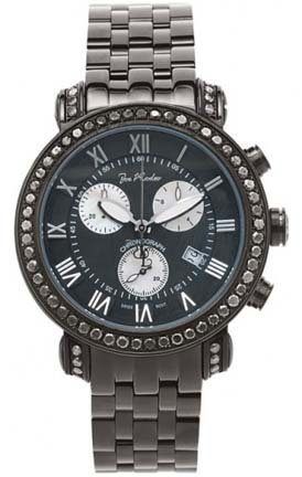 Joe Rodeo 5.25 Carats Black Diamond Watch #JCL09
