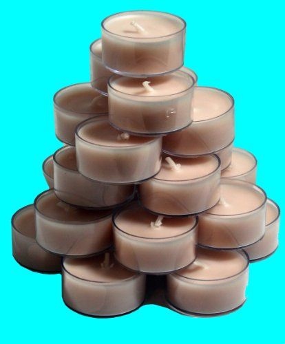 Scented Tealight Candles - Fresh Pear 30 Pcs Set (Vanilla Cashmere)