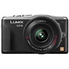 Panasonic LUMIX DMC-GF6,16 MP, inkl. Powerzoom Objektiv