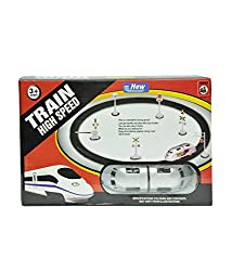 Saffire High Speed Metro With Round Track Battery Operated Train