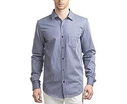 Scotchtree Men's Shirt (sco_020_Blue_X-Large)