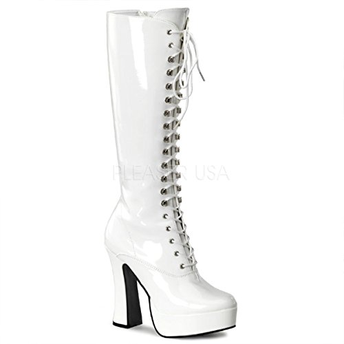 Exotic Lace up Knee Hi Women's Boots 5