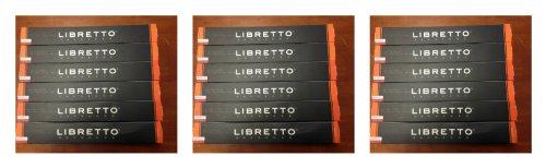 Libretto Espresso Andante-Medium (Nespresso Compatible) Premium Capsules (180 count) + Two Additional 10 Pack/Capsules Bonus