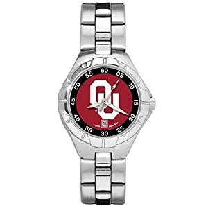 NSNSW22801Q-University of Oklahoma Watch - Ladies Pro Ii Sport by NCAA Officially Licensed