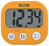 TANITA でか見えタイマー アプリコットオレンジ TD-384-OR