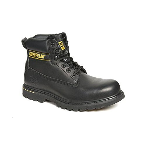 caterpillar catholtbk10 hotlen chaussures de s curit en cuir avec cousu goodyear noir taille 44. Black Bedroom Furniture Sets. Home Design Ideas