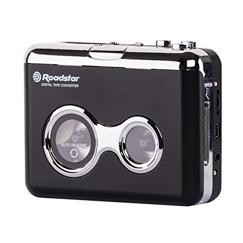 Roadstar PST-100ENC Lettore cassette stereo con Audio Encoding via PC
