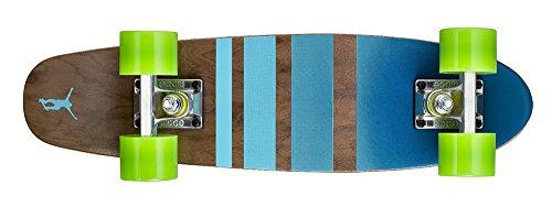 Ridge Skateboards Maple Mini Cruiser- NR3 Skateboard, Verde