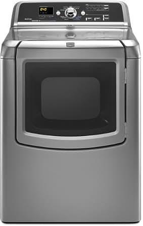 Maytag Bravos Series MEDB850WL 29 7.3 cu. Ft. Electric Dryer - Lunar Silver