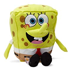 "SpongeBob Squarepants : Plush Backpack -13"" [Toy]"
