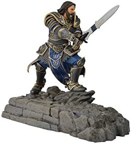 Swordfish Tech Warcraft, Lothar Statue Phone Charging Dock