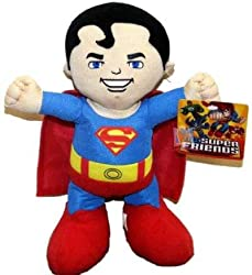 "Warner Brothers DC Comic Super Hero Baby Superman 10"" Plush Doll Mint with Tag"