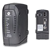 Motorola SURFboard SBV5220 Digital Voice Modem with Integrated Battery Backup