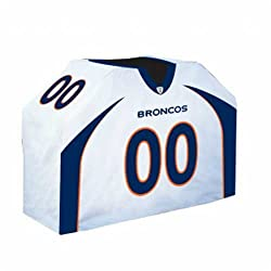 "Denver Broncos NFL Barbeque Grill Tank Cover (41""x60""x19.5"" )"